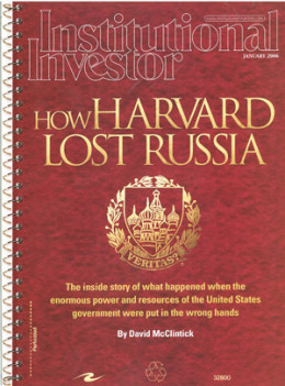 How Harvard Lost Russia