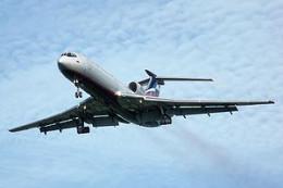 Практика полетов на самолете Ту-154