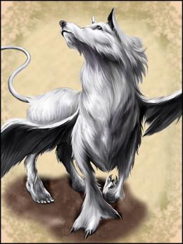 Волк и Луна. Хокку