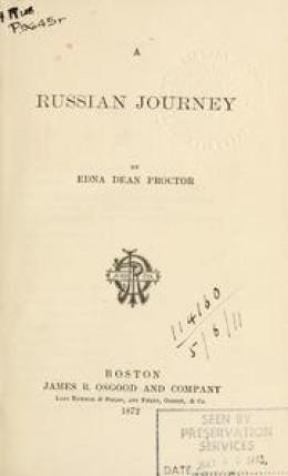 Edna Adean Proctor  A Russia Jorney