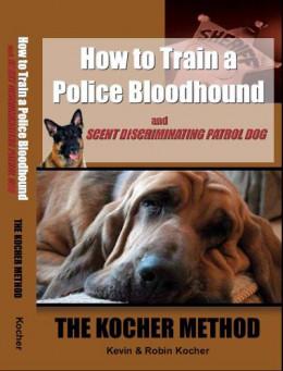 Как тренировать полицейских собак-ищеек и розыскных патрульных собак. Метод Кохера